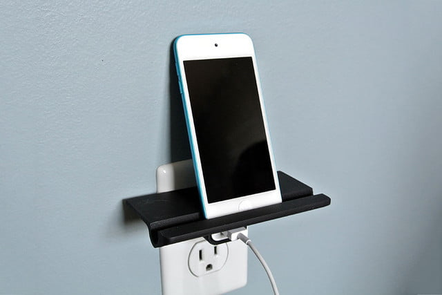 cool things to 3d print wall outlet shelf