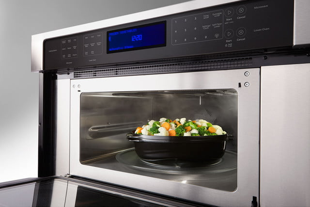 Whirlpools Smart Appliances Work With Nest And Amazon Dash Whirlpool 6 4 Cu Ft Combination Wall