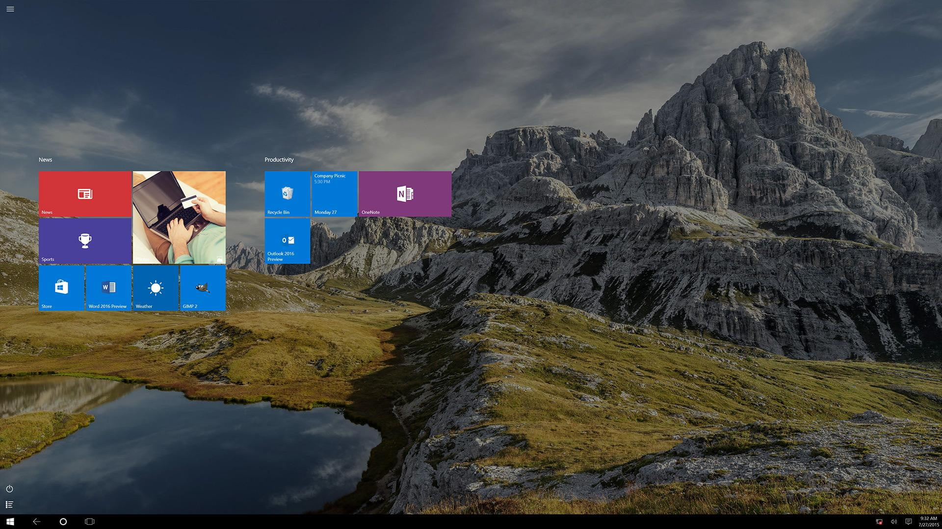 how to take photo from laptop camera in windows 10
