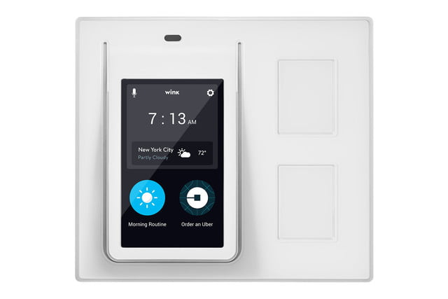 winks relay light switch works with uber fitbit and ifttt wink touchscreen controller 001