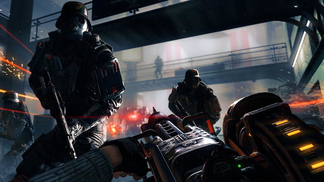 Wolfenstein The New Order hands on screenshot Charge