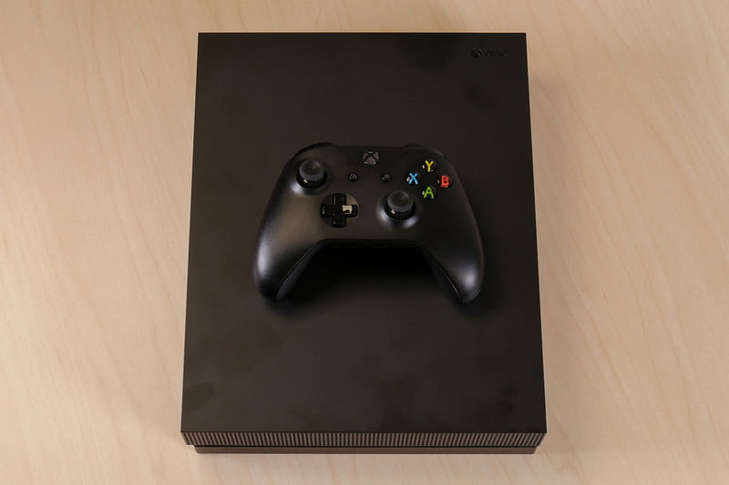 Xbox one x review digital trends xbox one x review controller on system ccuart Gallery
