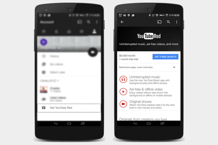 how to keep youtube playing in background android
