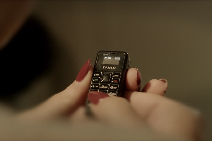 World's smallest tiniest phone - Zanco Tiny T1